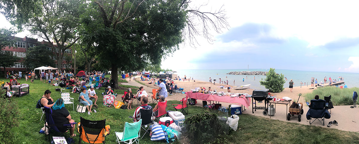 Jarvis Beach - July 4th 2018