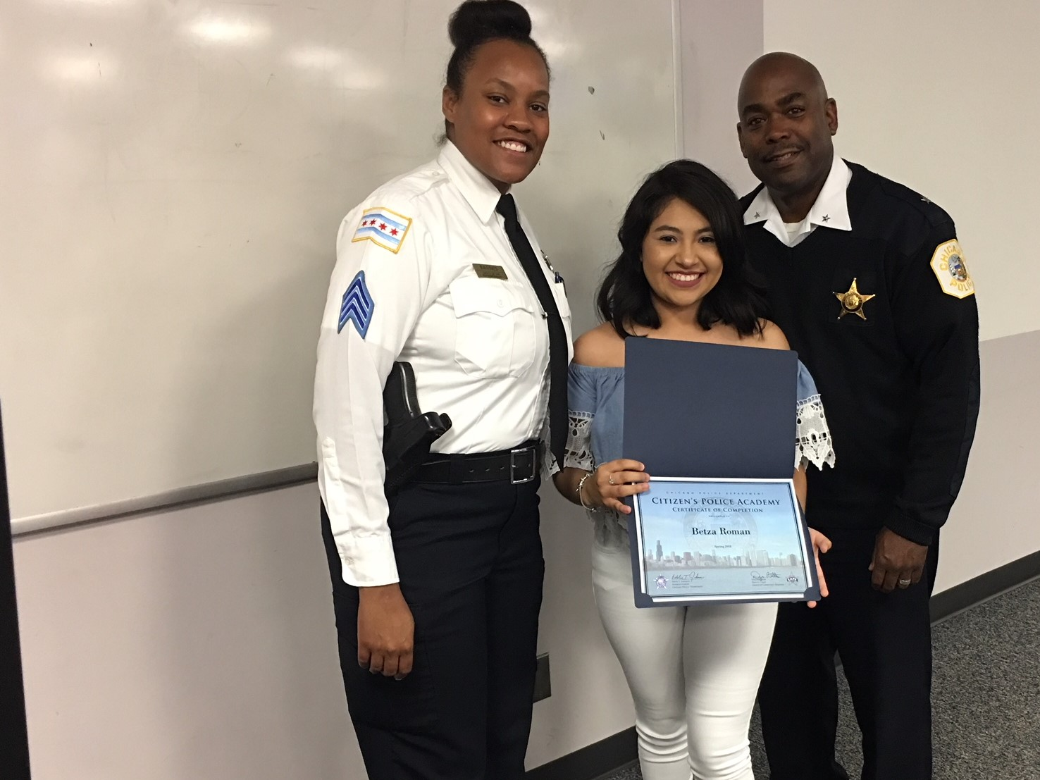 CMSA Students First To Graduate from Citizen's Police Academy