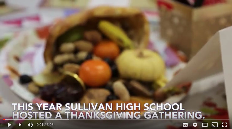 Sullivan's Inaugural Thanksgiving Gathering